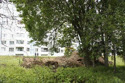 Спортплощадка в Загорских Далях - для жителей или тех, кому её надо скорее построить?